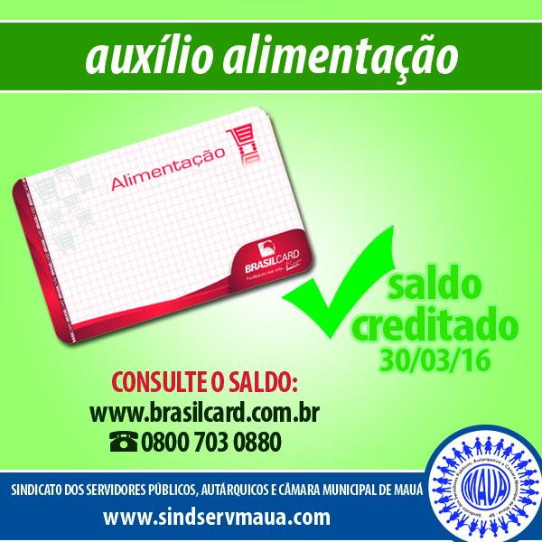 CARTAO-ALIMENTACAO-BRASILCARD-SALDOLIBERADO